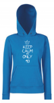 Bluza męska kangur KEEP CALM I'M ONLY 40