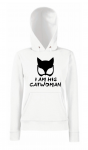Bluza damska kangur I AM HIS CATWOMAN