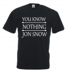 Koszulka męska YOU KNOW NOTHING JON SNOW