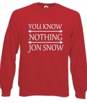 Bluza damska YOU KNOW NOTHING JON SNOW