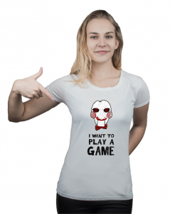 Koszulka damska I Want To Play a Game