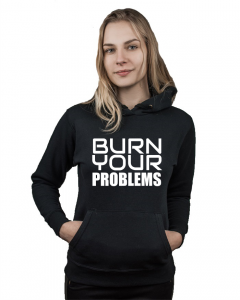 Bluza damska kangur BURN YOUR PROBLEMS