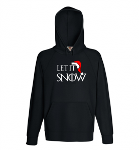 Bluza damska kangur LET IT SNOW