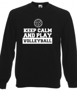 Bluza damska KEEP CALM AND PLAY VOLLEYBALL