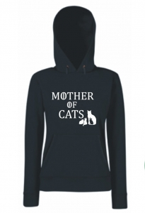 Bluza damska kangur MOTHER OF CATS