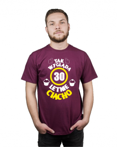5b3a665ed Koszulka męska NA 30 URODZINY PREZENT 4F58-366B2 - Sferakoszulek.pl